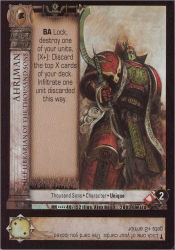 HHCCG - Horus Heresy Collectable Card Game